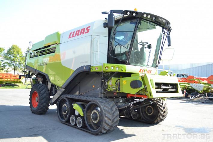 Комбайни Claas Lexion 780 Terra Trac 0 - Трактор БГ