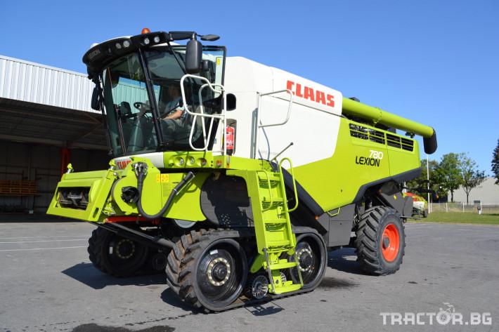 Комбайни Claas Lexion 780 Terra Trac 1 - Трактор БГ