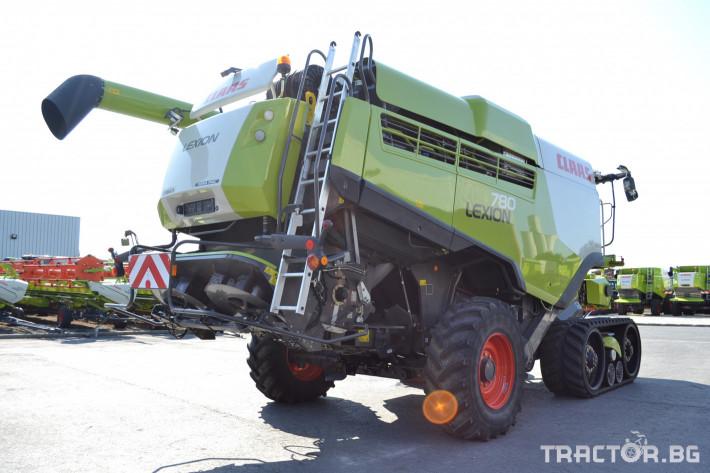 Комбайни Claas Lexion 780 Terra Trac 2 - Трактор БГ