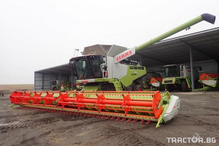 Комбайни Claas Lexion 780 Terra Trac 37 - Трактор БГ