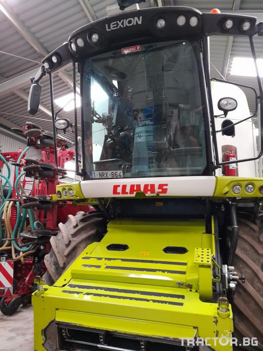 Комбайни Claas Lexion 750 0 - Трактор БГ