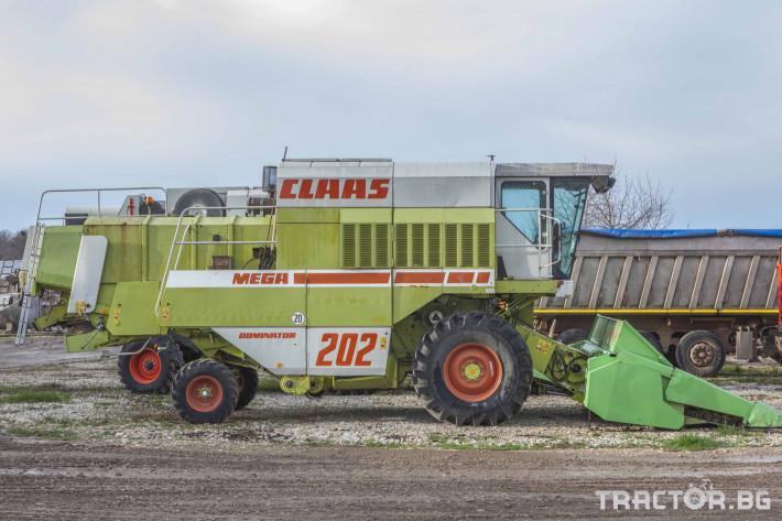 Комбайни Claas MEGA 202 0 - Трактор БГ