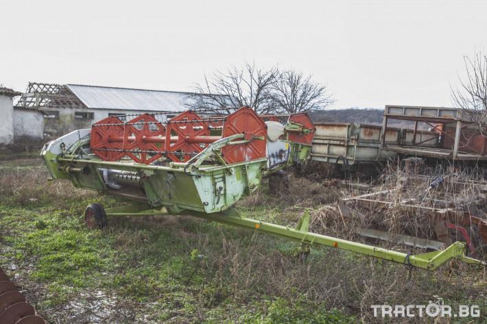 Комбайни Claas MEGA 202 13 - Трактор БГ