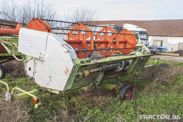 Комбайни Claas MEGA 202 14 - Трактор БГ
