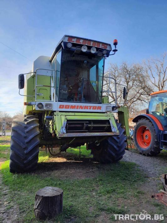 Комбайни Claas Dominator 118SL 3 - Трактор БГ