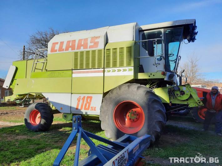 Комбайни Claas Dominator 118SL 4 - Трактор БГ