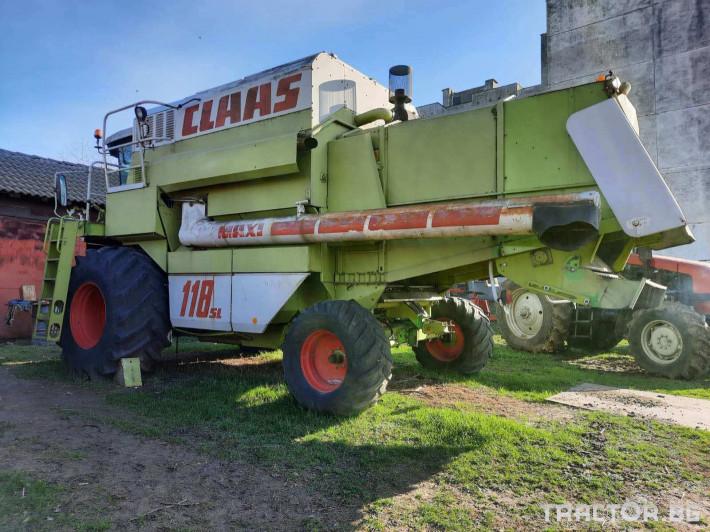 Комбайни Claas Dominator 118SL 1 - Трактор БГ