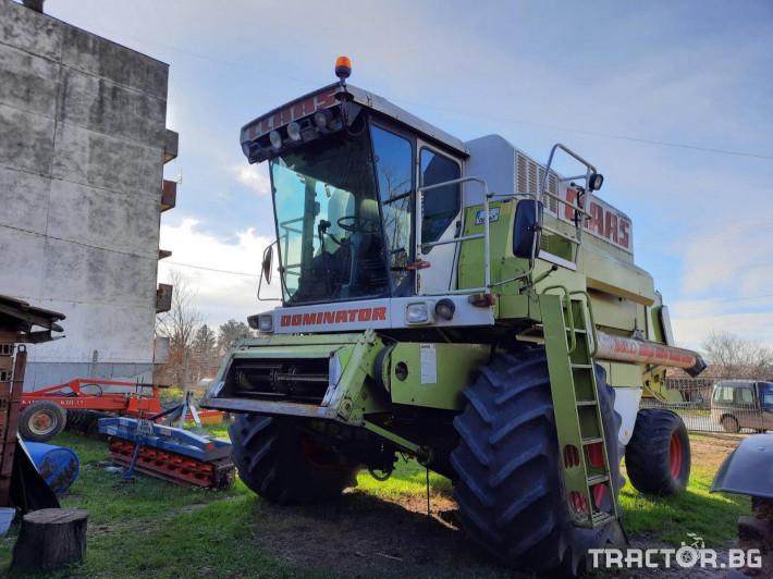 Комбайни Claas Dominator 118SL 2 - Трактор БГ