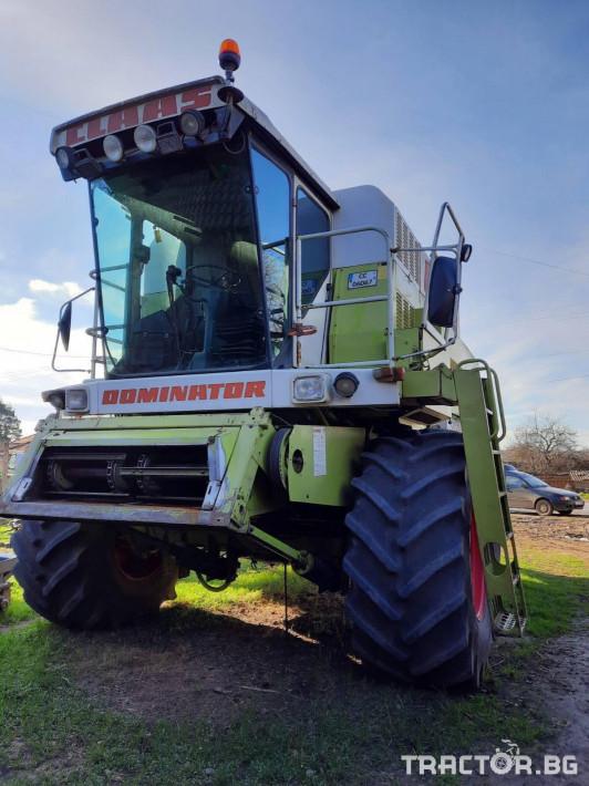 Комбайни Claas Dominator 118SL 5 - Трактор БГ