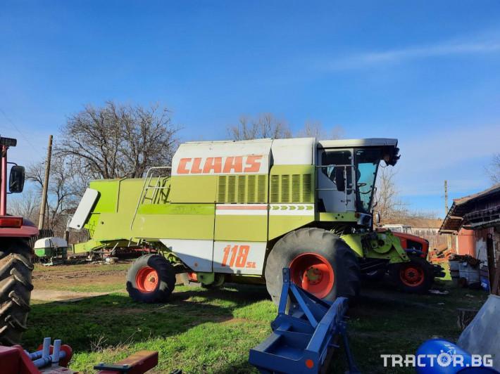 Комбайни Claas Dominator 118SL 0 - Трактор БГ