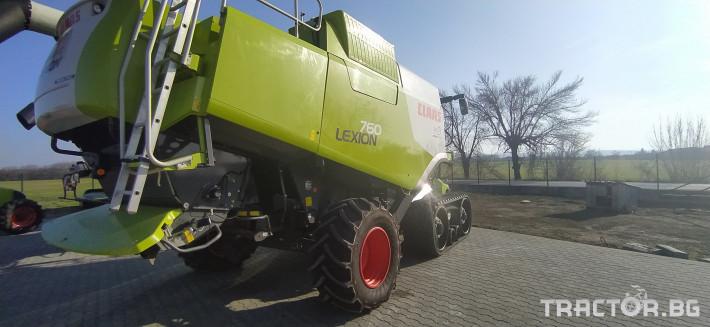 Комбайни Claas LEXION 760TT ПРОДАДЕН! 4 - Трактор БГ
