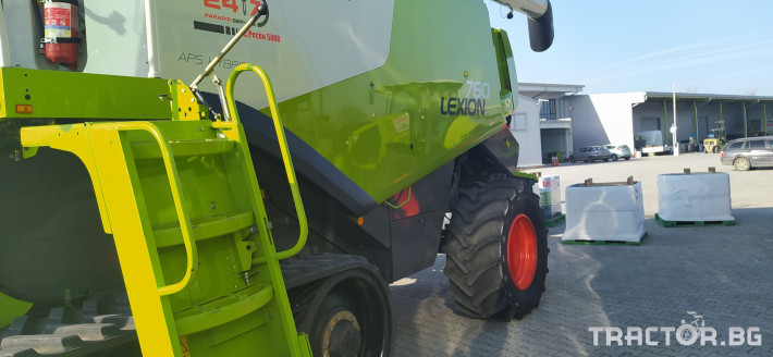 Комбайни Claas LEXION 760TT ПРОДАДЕН! 6 - Трактор БГ