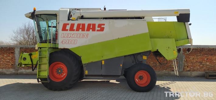 Комбайни Claas Lexion 480 1 - Трактор БГ