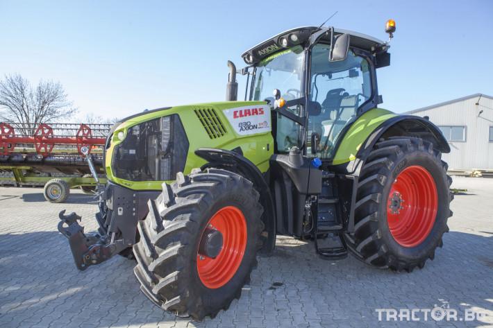 Трактори Claas Axion 830 CIS 6 - Трактор БГ