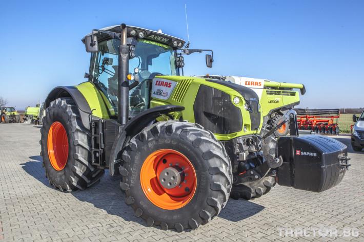 Трактори Claas Axion 850 Cebis ПРОДАДЕН! 1 - Трактор БГ