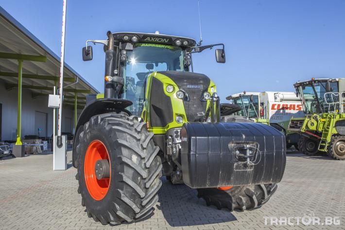 Трактори Claas Axion 850 Cebis ПРОДАДЕН! 2 - Трактор БГ