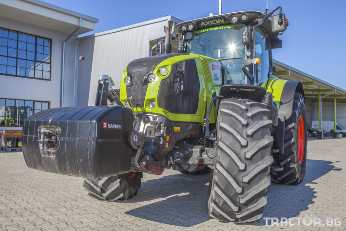 Трактори Claas Axion 850 Cebis ПРОДАДЕН! 3 - Трактор БГ