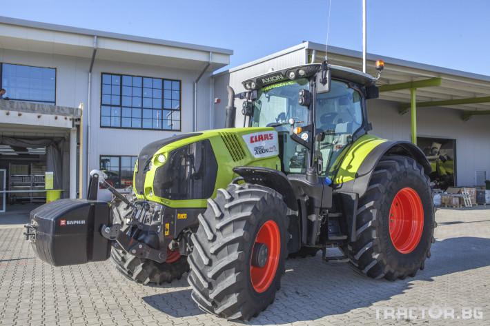 Трактори Claas Axion 850 Cebis ПРОДАДЕН! 4 - Трактор БГ