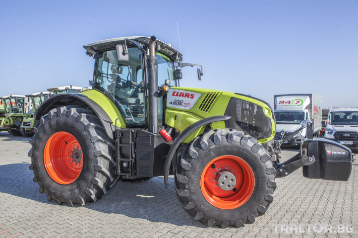 Трактори Claas Axion 850 Cebis ПРОДАДЕН! 9 - Трактор БГ