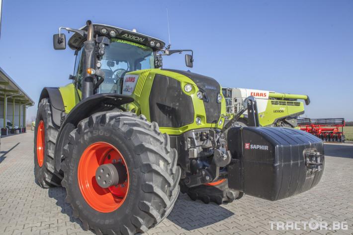 Трактори Claas Axion 850 Cebis ПРОДАДЕН! 10 - Трактор БГ