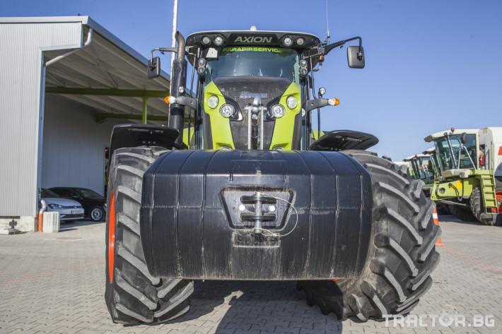 Трактори Claas Axion 850 Cebis ПРОДАДЕН! 11 - Трактор БГ