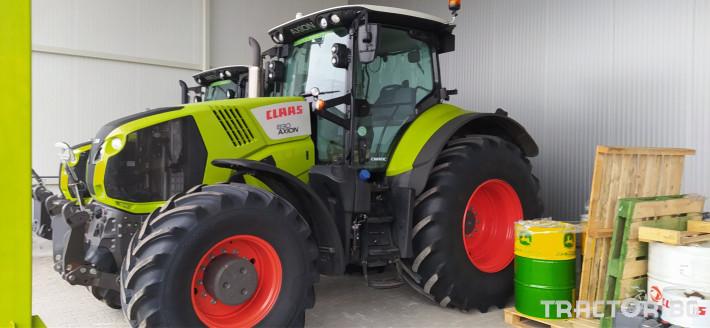 Трактори Claas AXION 830 CMATIC ПРОДАДЕН! 0 - Трактор БГ