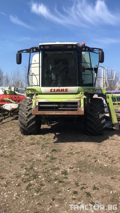 Комбайни Claas LEXION 560 1 - Трактор БГ