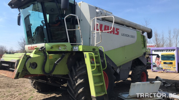 Комбайни Claas LEXION 560 0 - Трактор БГ