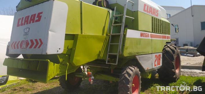 Комбайни Claas MEGA 218 2 - Трактор БГ