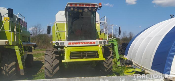 Комбайни Claas MEGA 218 3 - Трактор БГ